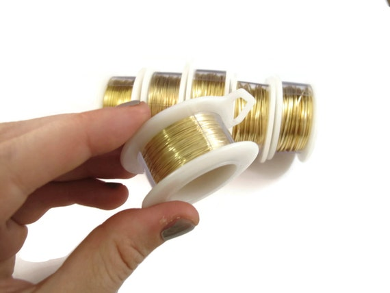 Gold Plated Wire 20 Gauge Round Wire For Making Jewlery