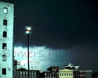 Photo - Moody NOLA - 8X12 Digitally Altered Fine Art Photograph of New Orleans after Katrina