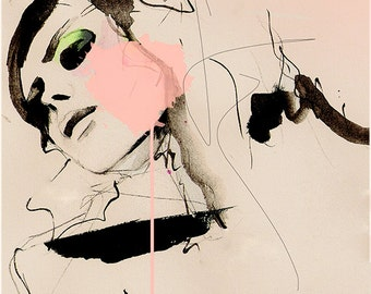 Hence  - Fashion Illustration Art Print
