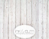 """Backdrop 3ft x 2ft, Vinyl Photography Backdrop Old White Wood, Vintage White wood background, Food styling backdrop, """"Kick the Can"""""""