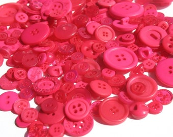 Raspberry Pink - Button Selection
