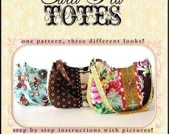 VERSATILE  Handbag PDF Sewing Pattern / Sweet Pea Totes
