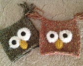 Owl Hat or Photo Prop Toddler Girl **RESERVED for MELISSA**