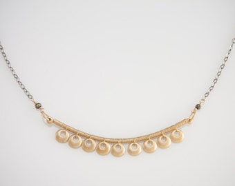 Crescent Swing Necklace