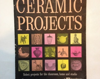 Ceramic Projects Mid Century VIntage Book