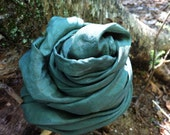 Playsilk - Sage Green - One 35 x 35 inch silk from the Traditional Rainbow Set
