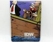 Sewn Comic Book Wallet - Popeye