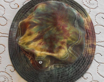 Camo Tie Dye Adult Bucket Hat