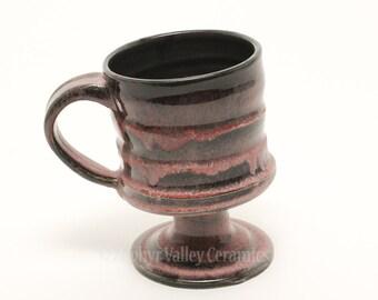 SALE•Coffee Mug - Ceramic Goblet - Stoneware Coffee Cup - Ceramic Tea Cup - Irish Coffee