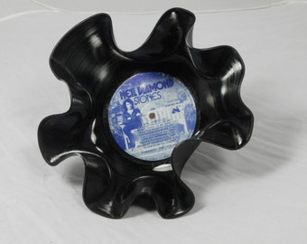 "Neil Diamond ""Stones"" Recycled Record Bowl"