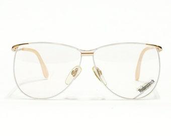 Half rim RODENSTOCK vintage eyeglasses frame - LadyR 826, 80s eyewear, small eyeglasses in unused new old stock NOS condition