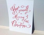 """Christmas Print 8x10"""""""