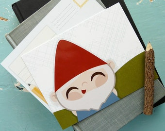 Postcard Pack : Gnome