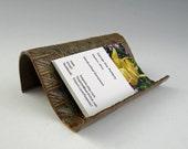 Business Card Holder in Autumn Haze