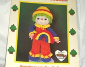 Rainbow Slush, Vintage Crochet Pattern, from Lollipop Lane Dumplin Designs