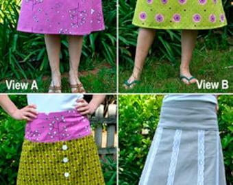 A+ Skirt Sewing Pattern