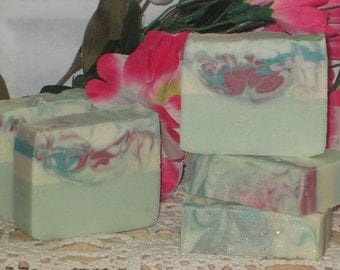 Goat Milk Soap Country Apple  Handmade Cold Process