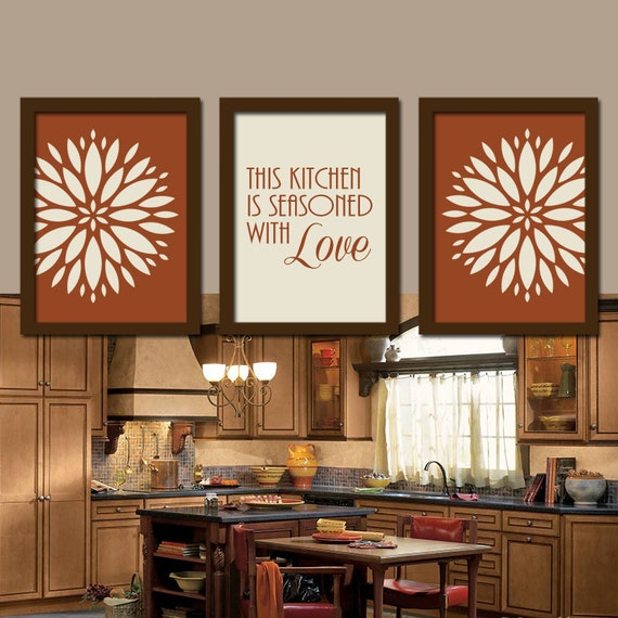 Art Prints For Kitchen Wall: KITCHEN Wall Art Canvas Or Prints Kitchen Utensils Pictures