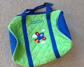 Stephen joseph Duffle Bag boy choices Personalzed FREE