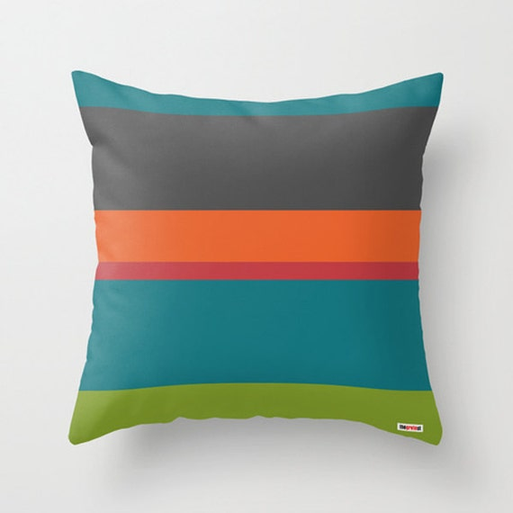 Decorative Pillows With Stripes : Stripes Decorative throw pillow cover Modern accent pillows
