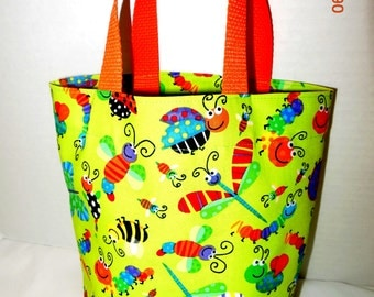 Lots of Bugs Tote/Gift Bag
