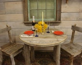 "Driftwood Dining Table (35"" Round x 29""H)"