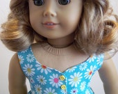 Daisy Sundress-American Girl Doll Clothes-18 inch
