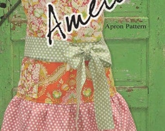 SALE Amelie Apron PATTERN by busy Bee Quilt Designs