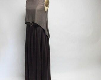 CUSTOM  Jersey Knit Asymmetrical Top YOUR SIZE