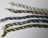 Olive, Sea Green, Autumn, Medium Perle Collection of 5 threads, only one available, Unique