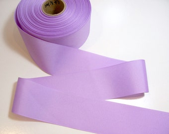 Wide Purple Ribbon, Light Lilac Purple Grosgrain Ribbon 2 1/4 inches wide x 10 yards