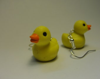 Rubber Ducky Earrings
