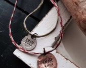 ANAM CARA necklace set soul friends personalized friends forever BFF soul mate Celtic