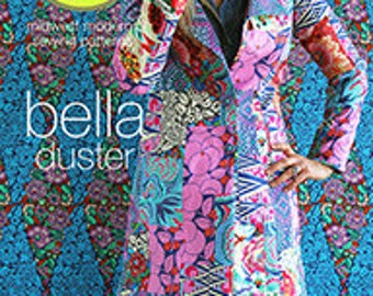 Amy Butler Bella Duster Sewing Pattern, FREE SHIPPING