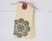 Doily Gift Tag Set of 5