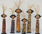 Corn Maiden Gourd Doll