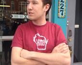Wisconsin Home shirt - next level men's crew tshirt s-xxl
