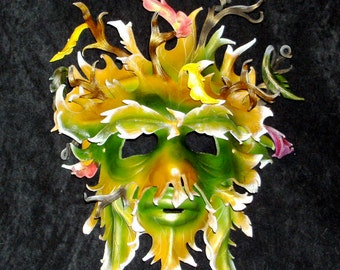 Father Greenman Leather Mask