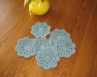Spruce Cotton Coasters set of 6