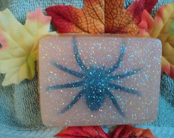 Spider Soap - Kid's soap,Party favor,soap with toy, Spiders, Halloween Soap