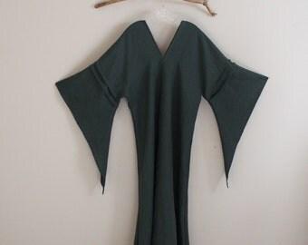 custom eco wedding dress linen flying swallow dress made to measure listing