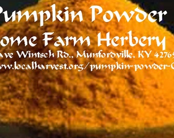 Pumpkin Powder All Natural
