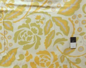 Dena Designs PWDF106 Taza Cynthia Yellow Cotton Fabric 1 Yard