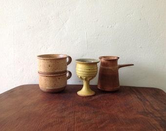 1970s Studio Pottery Goblet.