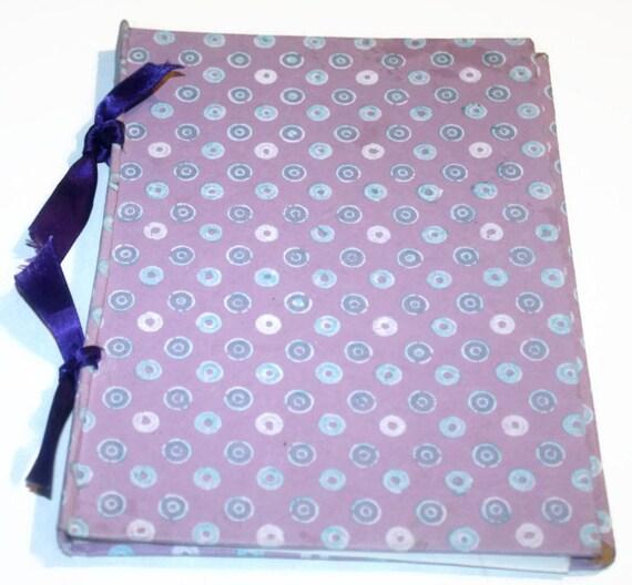 Purple Doughnut Ribbon Journal