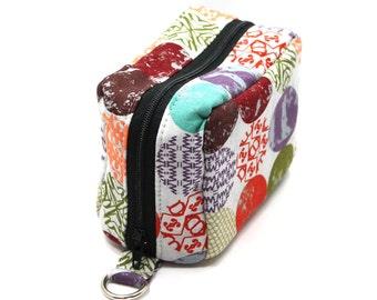 Essential Oil Case Holds 6 Bottles Essential Oil Bag Colorful Mod Dots