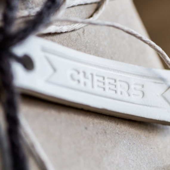 """Gift Tag: """"Cheers"""""""