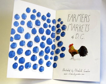 Farmers Markets of DC, small book