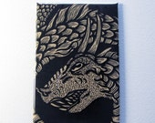 Leviathan sea serpent art magnet 2 x 3 inches