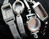 Steampunk Watch Cases Bands Vintage Antique Bracelets Altered Art TV 8